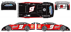 2009 Kasey Kahne #9 Budwesier Eldora  Late Model Car