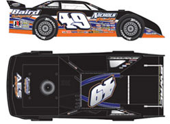 ADC Dirt Late Model Diecast Cars