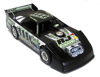 ADC Red Series Max Blair 1/64 Late Model Diecast Car
