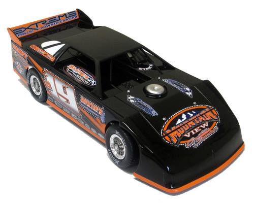 ADC RED SERIES 2017 DILLON STAKE Dirt Late Model 1/24 Diecast Car