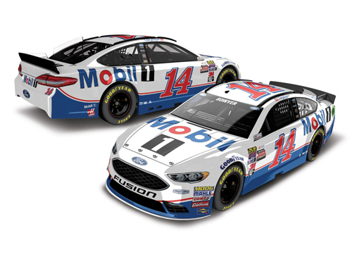 2017 Clint Bowyer #14 Mobil 1 HOTO 1:24 Diecast Car