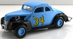 1940 Wendell Scott #34 Success Against All Odds 1:24 Diecast Car.