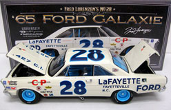"Fred Lorenzen #28 1965 Lafayette Ford 1:24  Diecast Car.  ""Standard Or Autographed Version"""