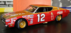 "Bobby Allison 1969 Mercury Cyclone 1:24 Diecast Car  ""Autographed Version"""