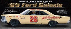 "Junior Johnson 1965 #26 Galaxie 1:24 Diecast Car  ""Autographed Version"""
