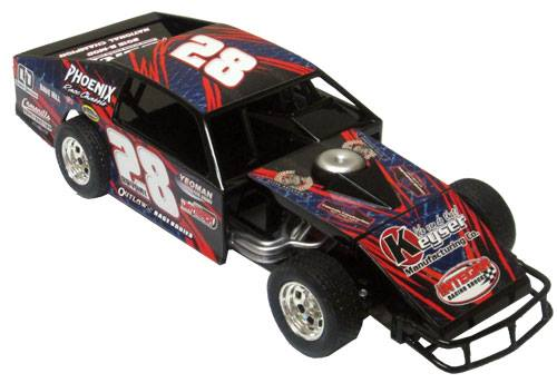 ADC RED SERIES 2017 ANDY BRYANT Modified 1/24 Diecast Car