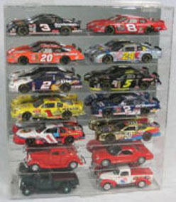 Diecast 14 Car 1/24 Display Case