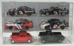 Diecast 6 Car 1/24 Display Case
