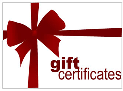 GFRracing Gift Certificate