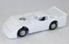 ADC Dirt Late Model Blank - White Body - Black Chassis 1/24 scale Car.