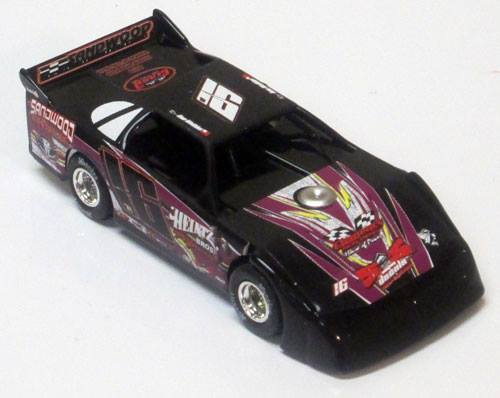 ADC Red Series 2016 Ben Watkins 1/64 Late Model Diecast Car