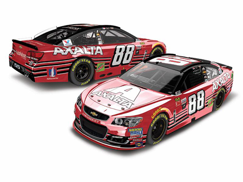 2017 Dale Earnhardt Jr #88 Axalta Homestead Last Ride 1:24 Color Chrome Diecast Car
