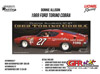 "1969 Donnie Allison #27 East Point  ""AUTOGRAPHED"" Ford Torino 1:24  Diecast Car."