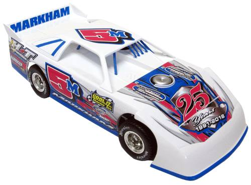 ADC RED SERIES 2016 RYAN MARKHAM  Late Model 1/64 Diecast Car