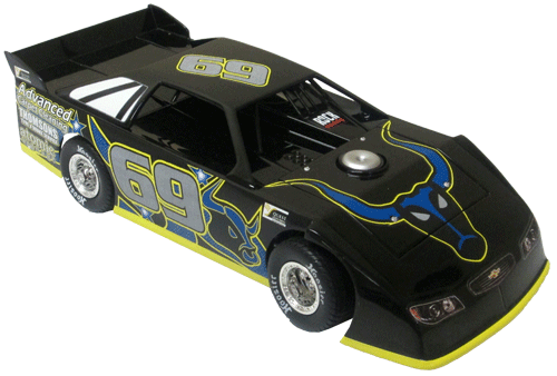 ADC Red Series. 2017 BRYN HAYTHORNTHWAITHE #69 Dirt Late Model 1/24 Diecast Car. Available to preorder UNTIL OCT 30TH 2017