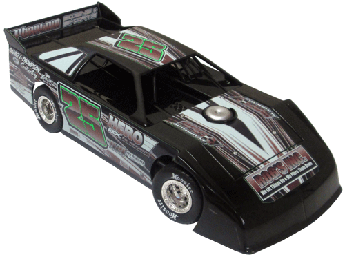 ADC Red Series. 2017 CHRIS PETERSON #25 Dirt Late Model 1/24 Diecast Car. Available to preorder UNTIL OCT 30TH 2017