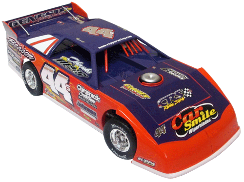 ADC Red Series. 2017 DAVE HESS #44S Dirt Late Model 1/24 Diecast Car. Available to preorder UNTIL OCT 30TH 2017